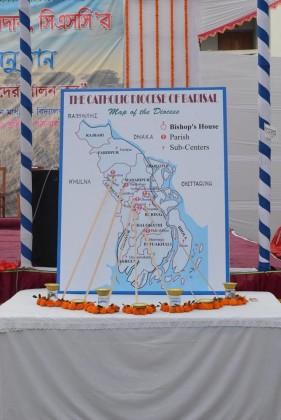 Barisal Diocean Map