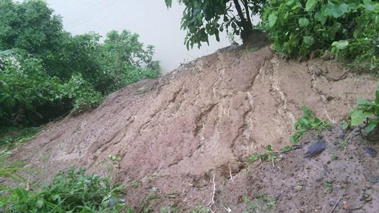 Cyclone KOMEN Bandarban 1