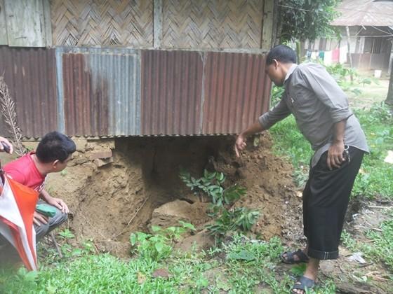 Cyclone KOMEN Bandarban 4