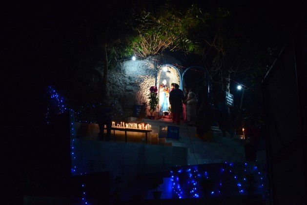Mother Mary in Diang