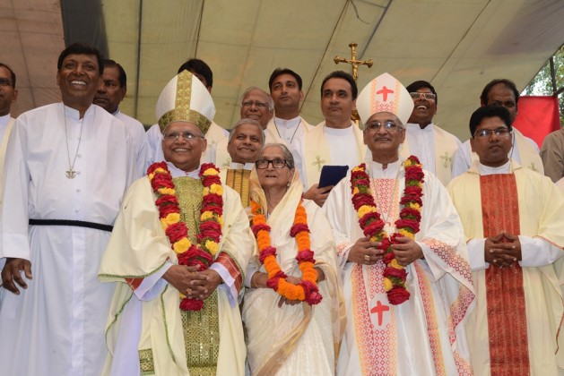 Reception to Bp. Lawrence Subrato Howlader in Diang Pilgrimage