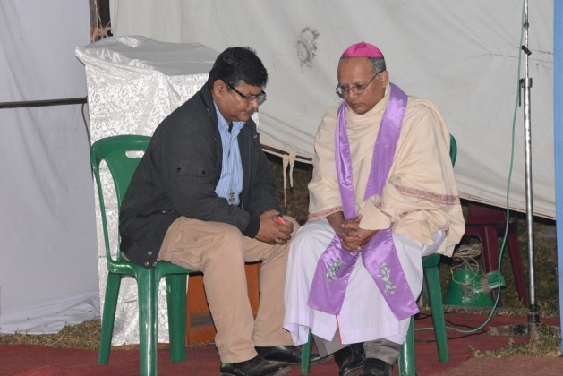 Sacrament of reconciliation in Diang Pilgrimage