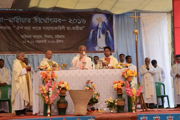 Solemn Eucharistic Celebration in Diang Pilgrimage