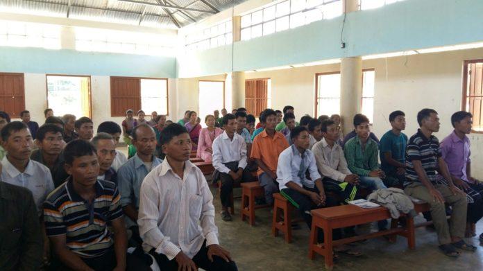 Guardians' Meeting in Shanti Raj School, Thanchi 2016