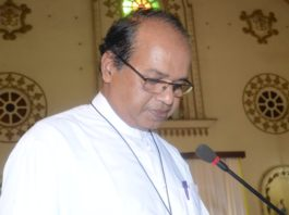 Holy Cross Brothers' Provincial Herald Bijoy Rodrigues
