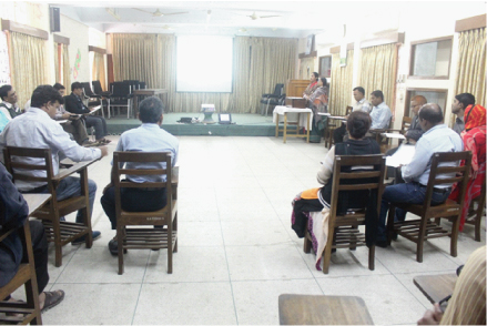 During special prayer session for the victims of Human Trafficking on 08th February 2017 at Caritas Chittagong Regional Training Hall.