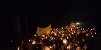 Diang Pilgrimage 2017- Candle Light Procession
