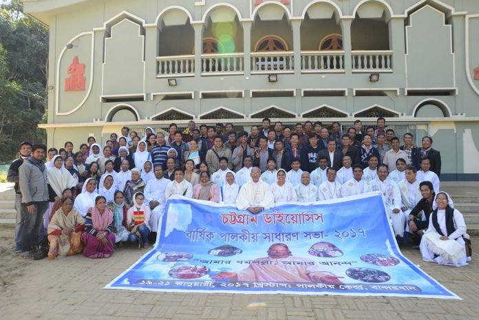 Participants in the Pastoral Assembly 2017