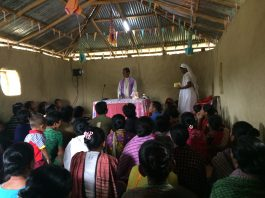 Sharing on Pastoral Theme in Lama parish (1)