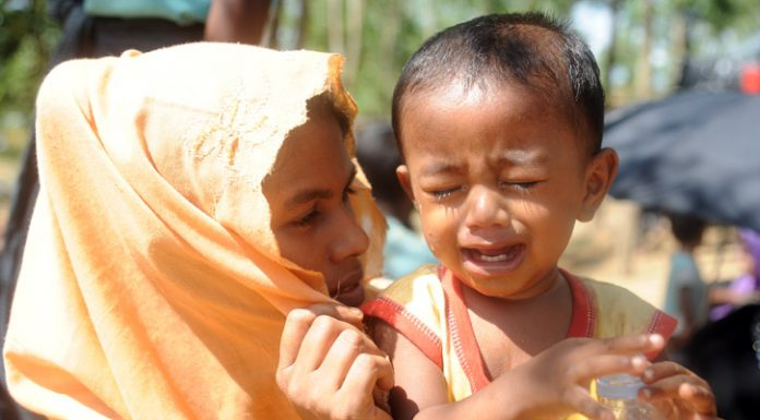 Refugees from Rakhaine State, Myanmar-1