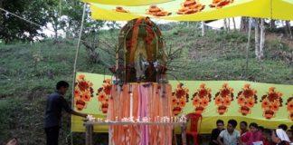 Marian Pilgrimage in Lama