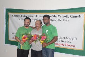 Mr. Robi Christopher D'Costa with the PST members