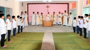 Blessing ceremony of Sacred Heart Seminary in Alikadam