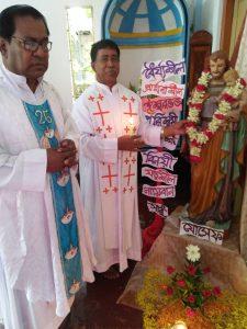 Feast Day of Saint Joseph's Church in Luxmipur