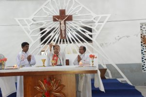 Eucharistic Celebration on the last day