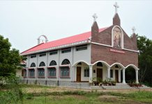 Newly build Khagrachori Church Buidling
