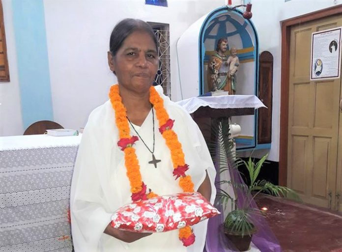 golden jubilee of Sister Renu Costa, RNDM