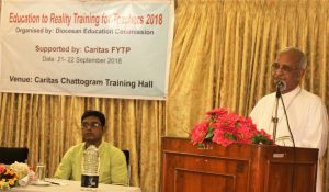 Education to Reality Training, Caritas 2018