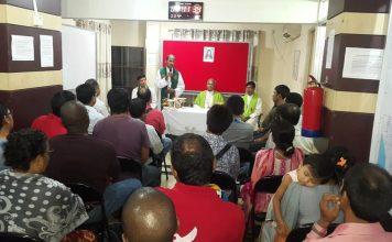 Mass offered in World Vision, Cox's Bazar