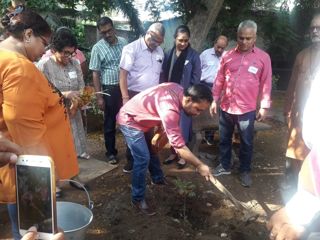 Planting Trees in the TOT training on 'Laudator Si' Handbook