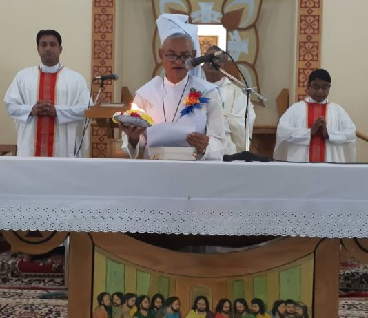 Bro. Sylvester Mridha, CSC Celebrates 40 years of vowed life