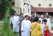 Feast day of our holy rosary cathedral parish