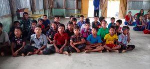 Children and Parents Gathering in Bolipara Parish-2