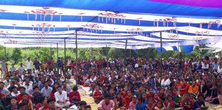 Annual Marian Pilgrimage at Tongojhiripara, Lama-1