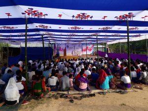 Annual Marian Pilgrimage at Tongojhiripara, Lama-3
