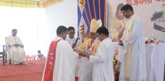 Ordination of Fr. Benjamin Pintu Costa