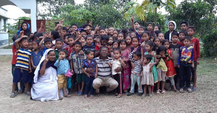 Holy Childhood Sunday Celebrated in Lama