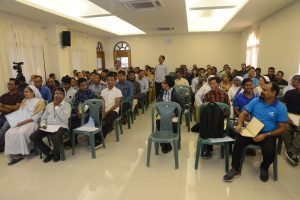 A session during pastoral assembly 2020