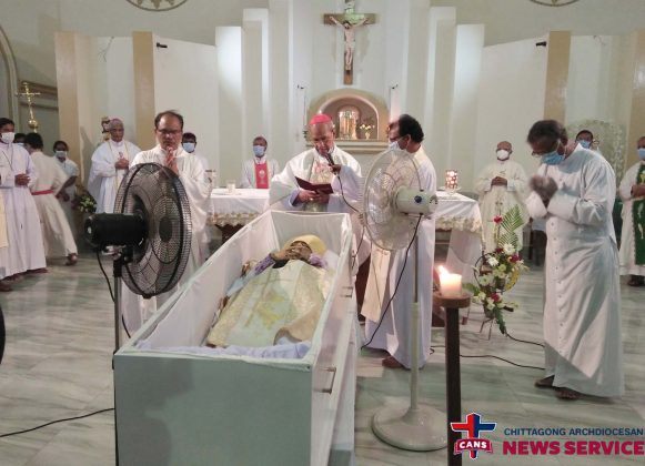Funeral of Archbishop Moses M. Costa, CSC